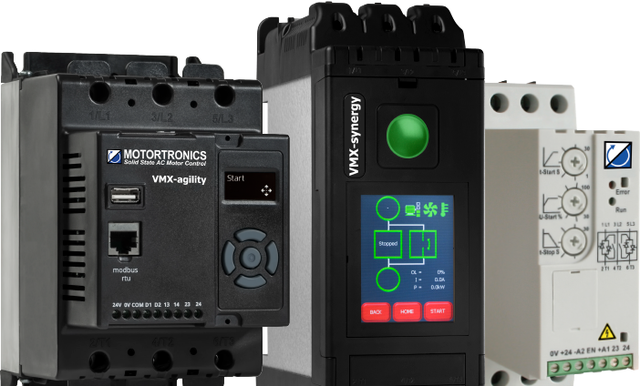 low voltage soft starters motortronics